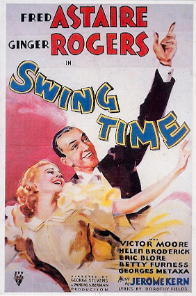Fred Astare Ginger Rogers Dancin' Fools Dance art Fred Astaire Gene Kelly analyzed compared lecture Richard T. Hanson group seminar classic performances films famous dancing partners